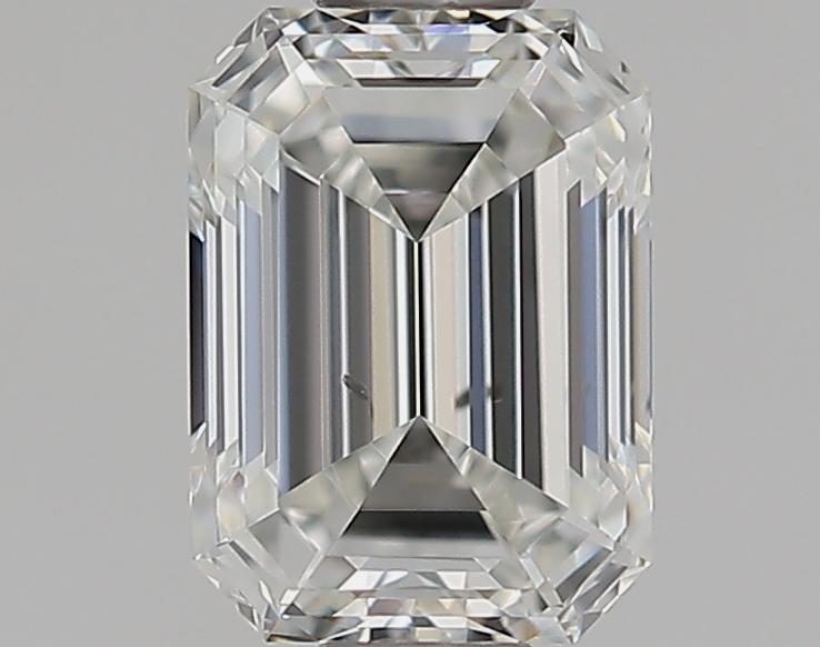 0.51 ct Emerald Cut Diamond : H / SI1