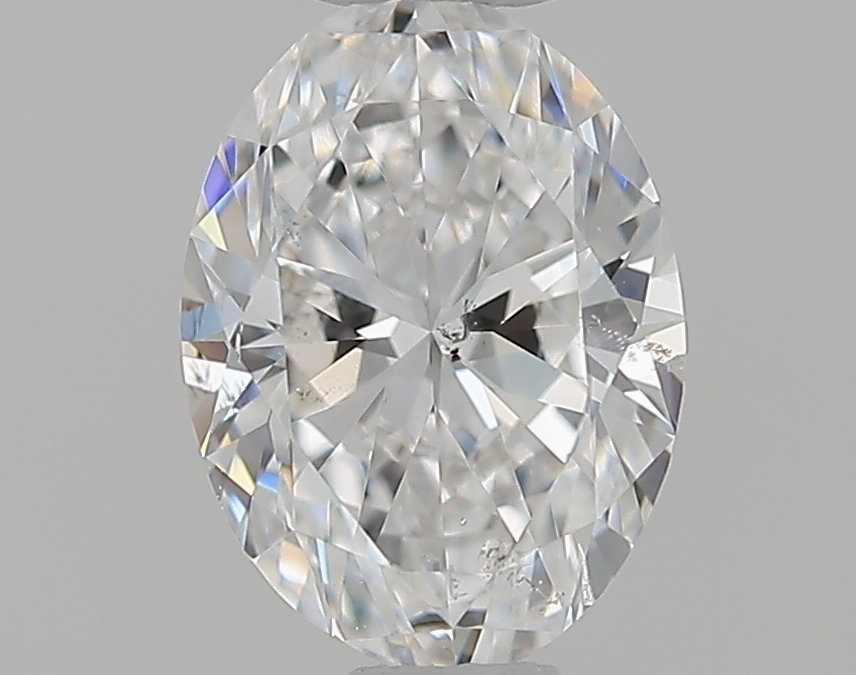 0.50 ct Oval Diamond : F / SI2