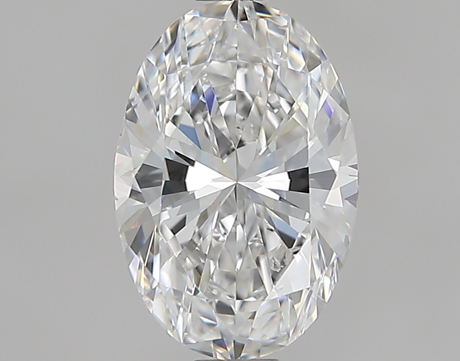 1.01 ct Oval Diamond : F / SI1