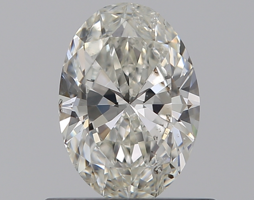 0.50 ct Oval Diamond : I / SI2