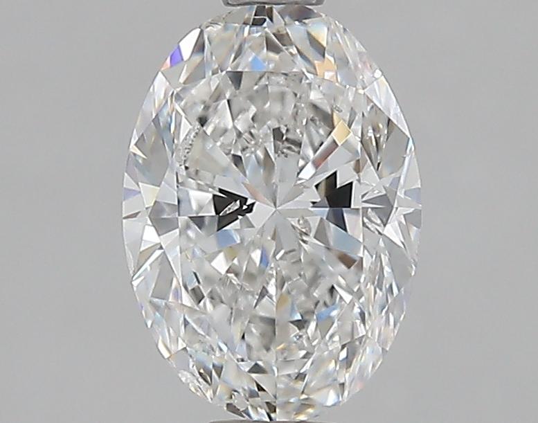 1.21 ct Oval Diamond : F / SI2