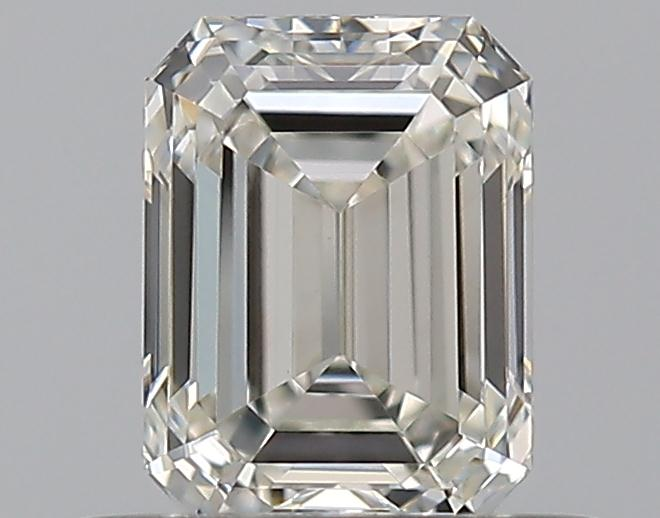 0.51 ct Emerald Cut Diamond : H / VS1