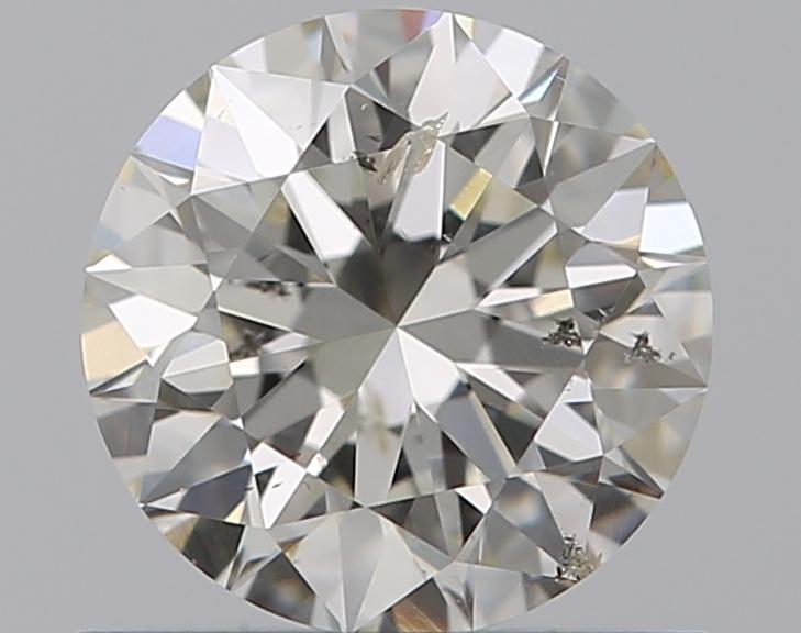 0.60 ct Round Diamond : J / SI2
