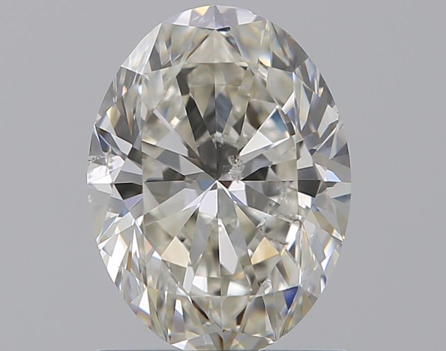 0.96 ct Oval Diamond : J / SI2