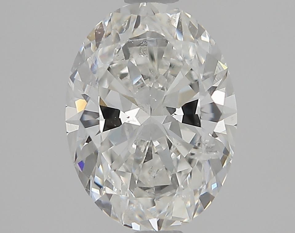 1.72 ct Oval Diamond : H / SI2