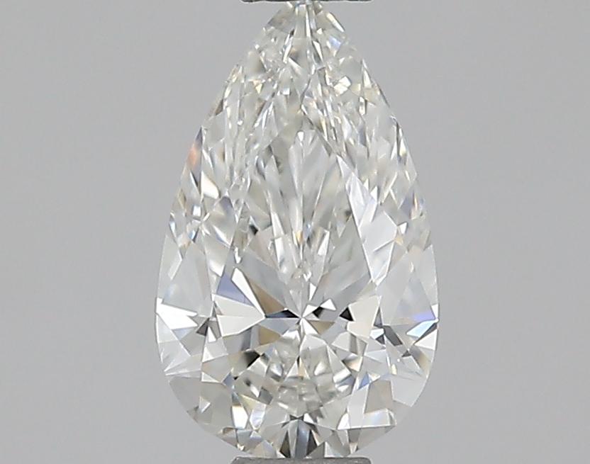 0.40 ct Pear Shape Diamond : H / SI1