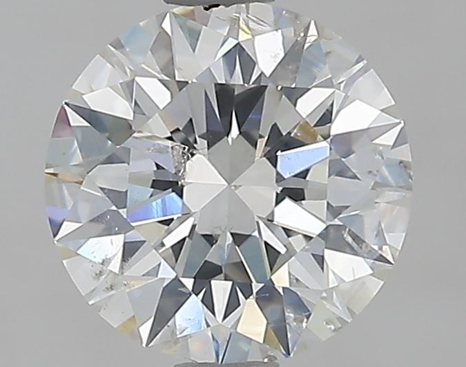 1.61 ct Round Diamond : H / SI2