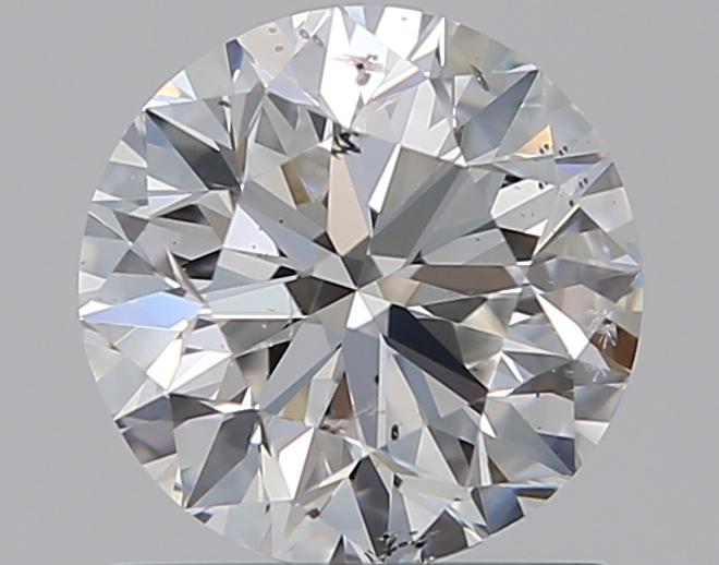 0.90 ct Round Diamond : E / SI2