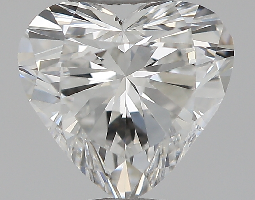 0.50 ct Heart Shape Diamond : F / SI1