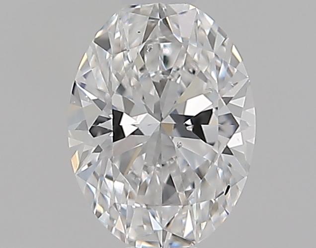 0.54 ct Oval Diamond : D / SI1