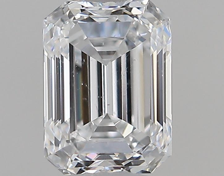 0.51 ct Emerald Cut Diamond : D / SI1