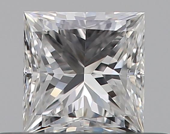 0.38 ct Princess Cut Diamond : E / VVS1