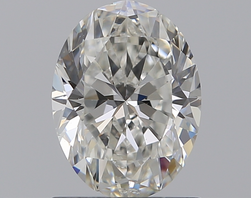0.96 ct Oval Diamond : H / SI1