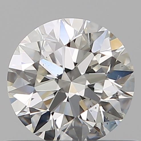0.51 ct Round Diamond : H / SI1