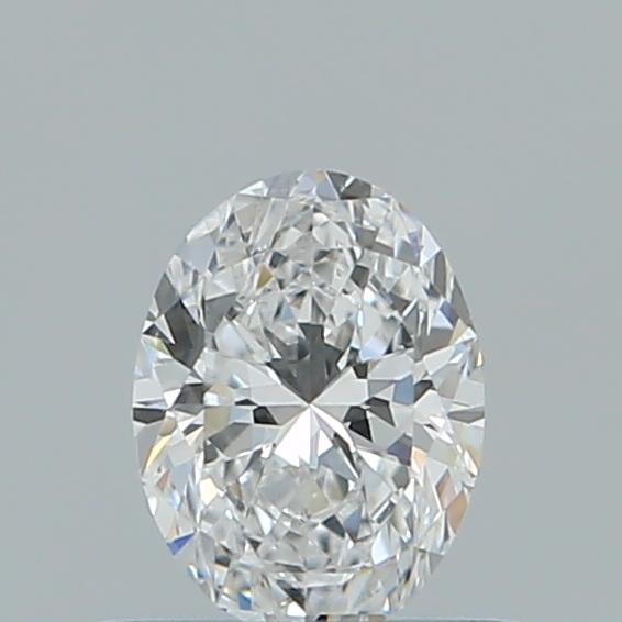 0.42 ct Oval Diamond : D / VS2