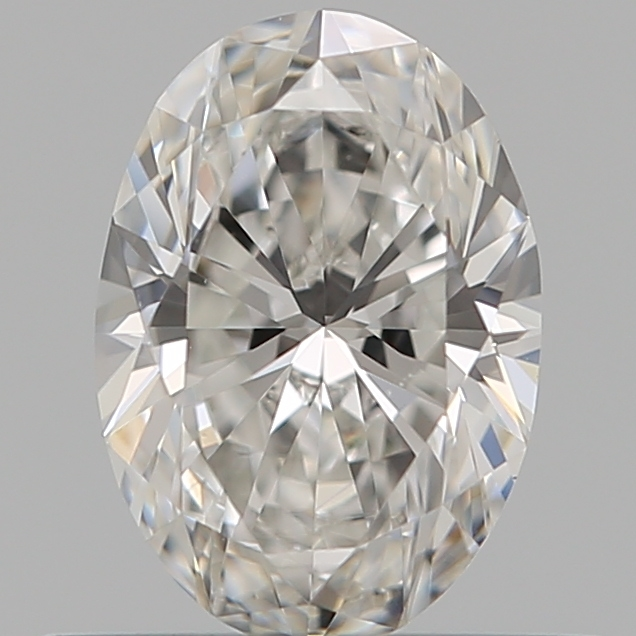 0.50 ct Oval Diamond : F / SI1
