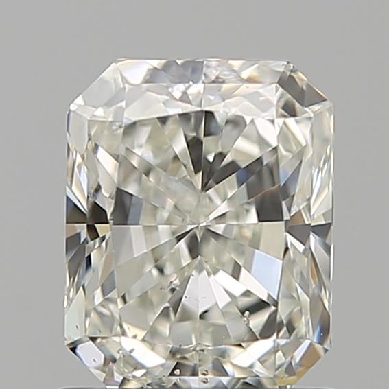 1.00 ct Radiant Diamond : J / SI2