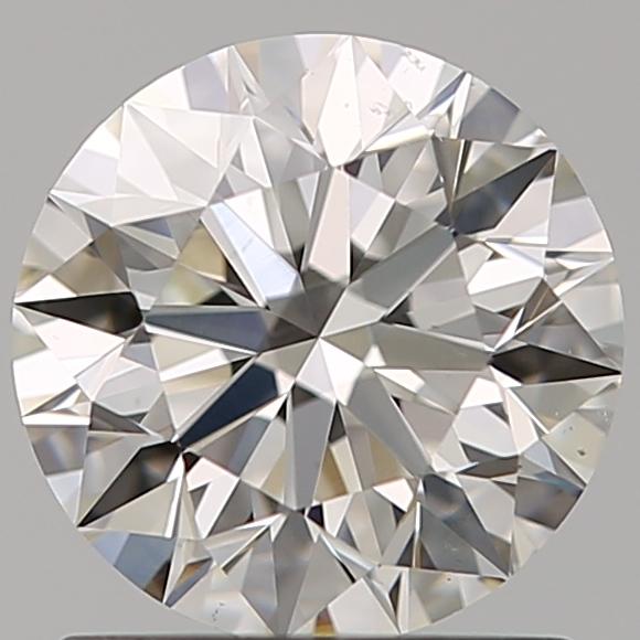 1.07 ct Round Diamond : H / SI1