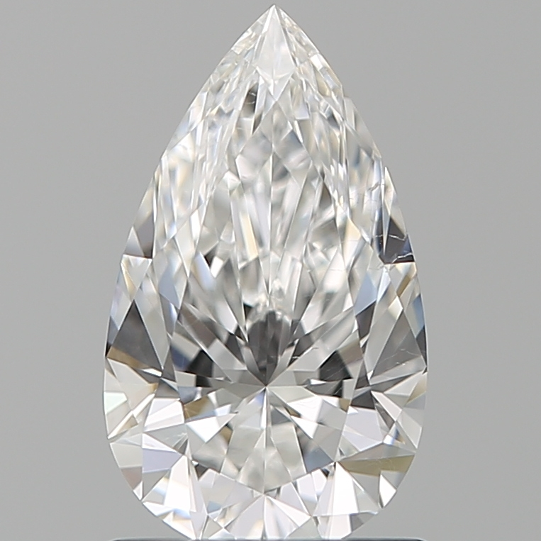 1.01 ct Pear Shape Diamond : F / SI1