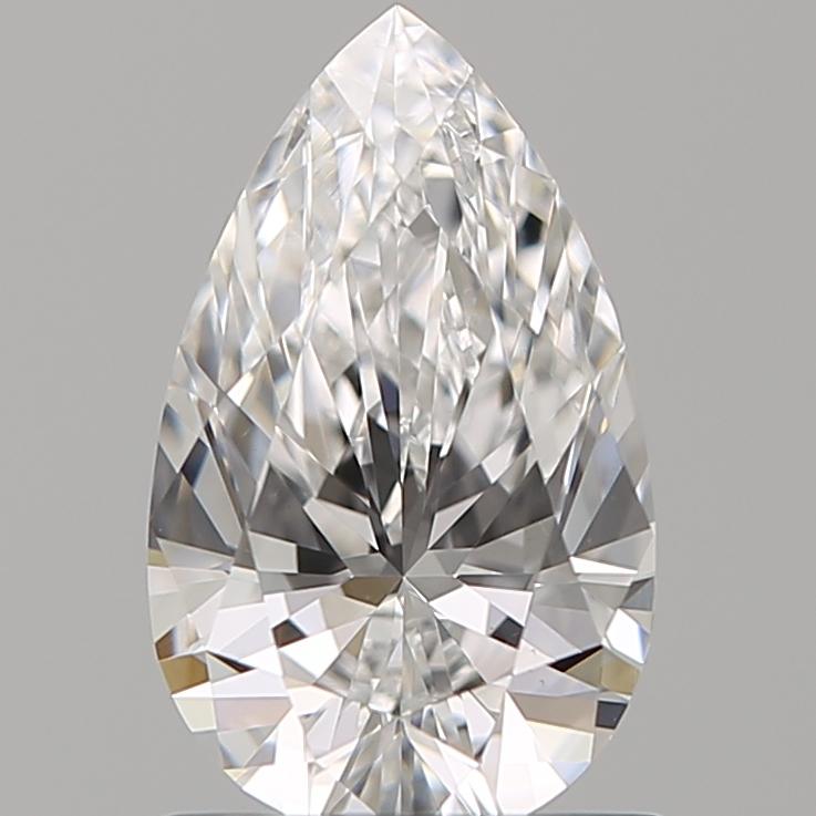 0.92 ct Pear Shape Diamond : E / VS1