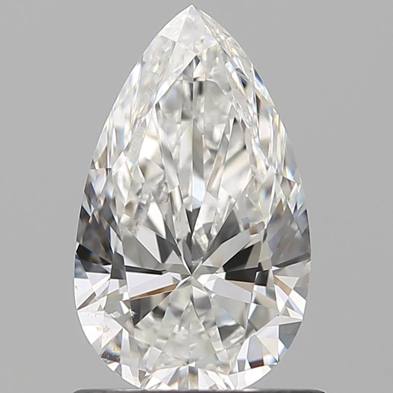 0.90 ct Pear Shape Diamond : E / SI1