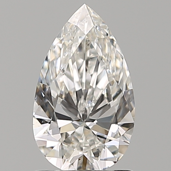 1.00 ct Pear Shape Diamond : F / SI1