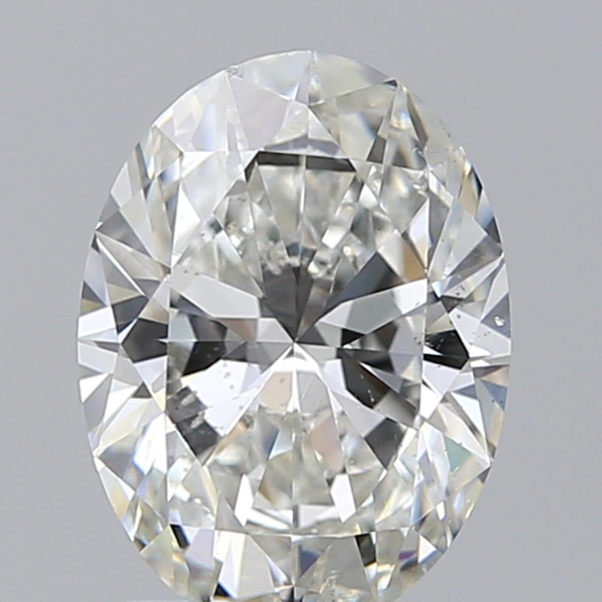 1.81 ct Oval Diamond : H / SI2