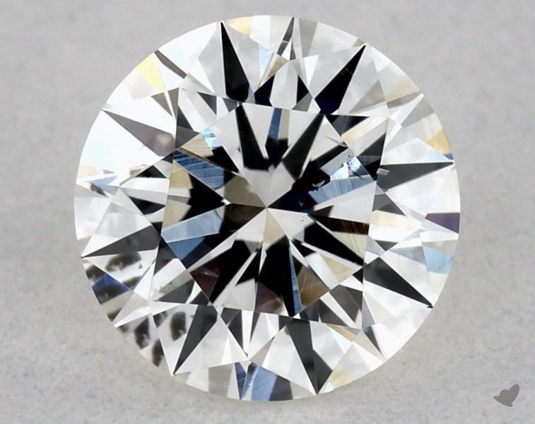 0.51 ct Round Diamond : I / SI2