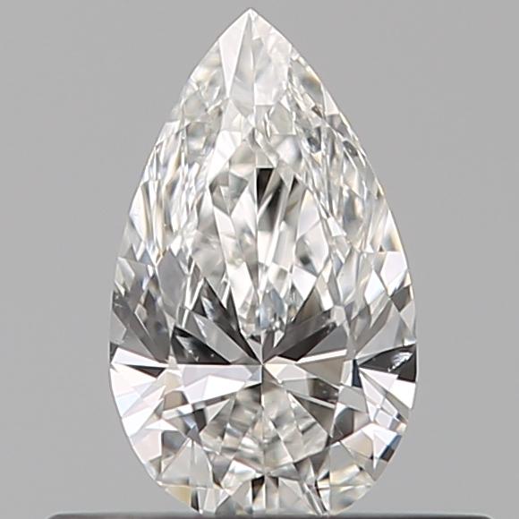 0.31 ct Pear Shape Diamond : F / SI1