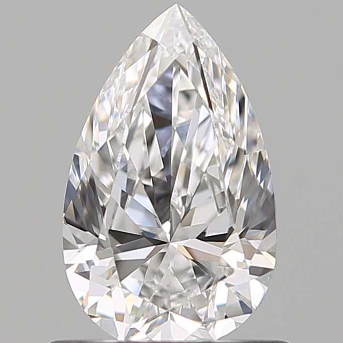 0.80 ct Pear Shape Diamond : D / VVS2