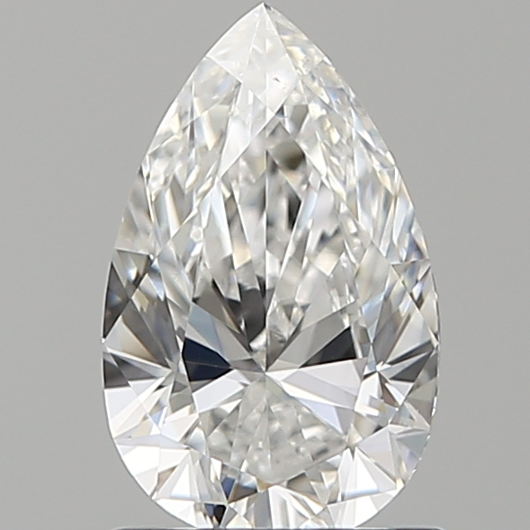 1.00 ct Pear Shape Diamond : E / VS2