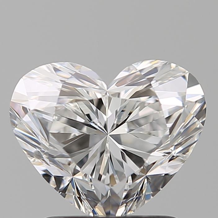 1.51 ct Heart Shape Diamond : E / VS1