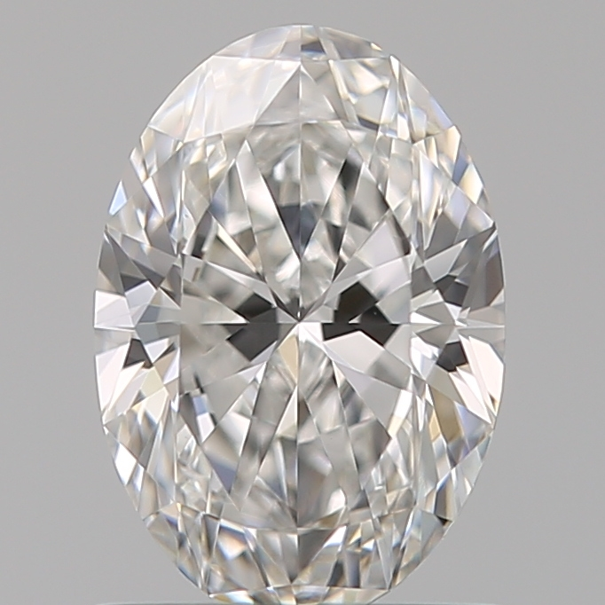 0.90 ct Oval Diamond : F / VS1