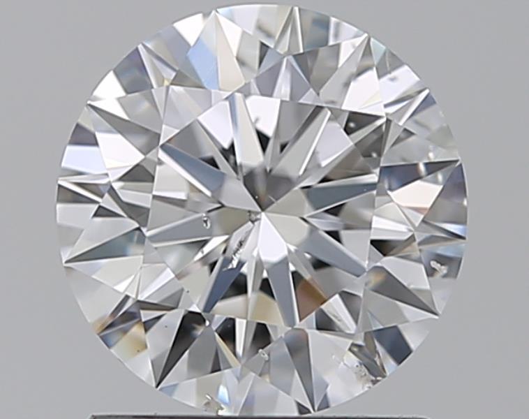 1.01 ct Round Diamond : D / SI2