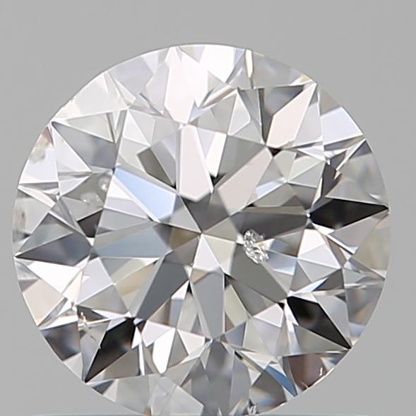 0.75 ct Round Diamond : D / SI2