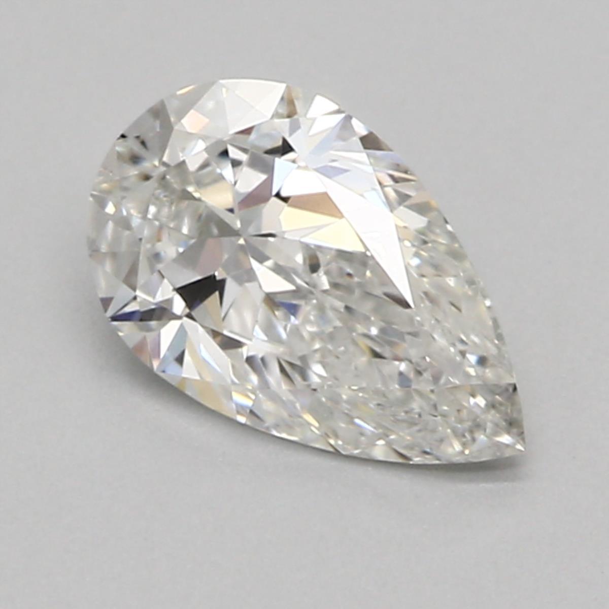 0.50 ct Pear Shape Diamond : F / VS2