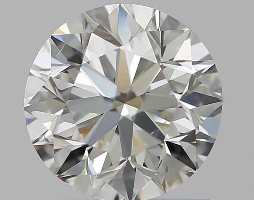 0.90 ct Round Diamond : K / SI1