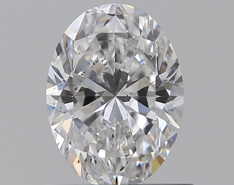 0.59 ct Oval Diamond : D / SI1
