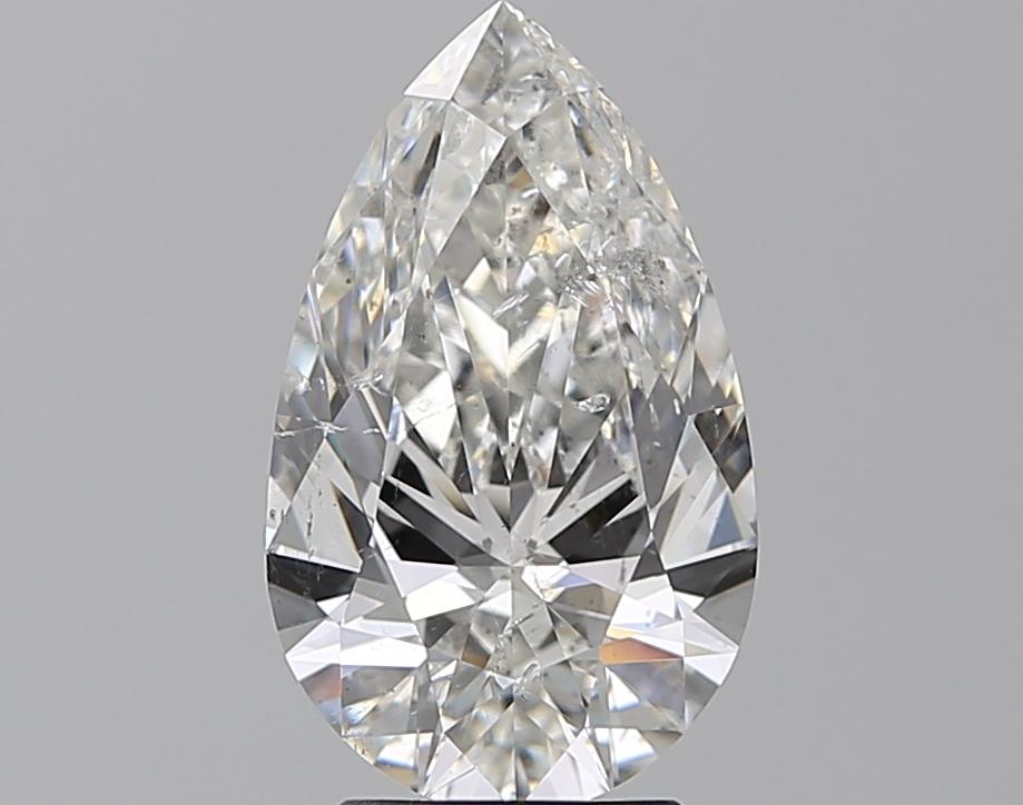 2.72 ct Pear Shape Diamond : G / SI2