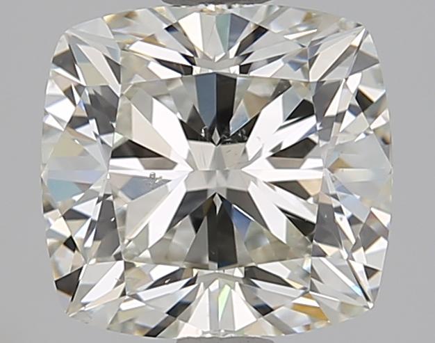 2.01 ct Cushion Cut Diamond : J / SI1