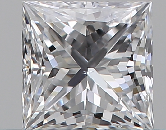 0.30 ct Princess Cut Diamond : D / SI1