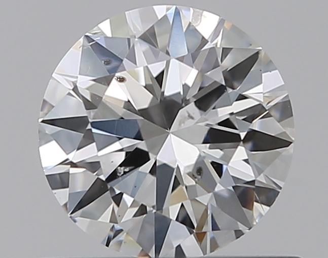0.50 ct Round Diamond : F / SI1