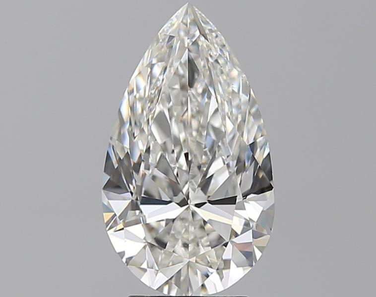 3.00 ct Pear Shape Diamond : G / VS2
