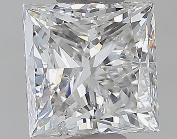 1.00 ct Princess Cut Diamond : G / I1