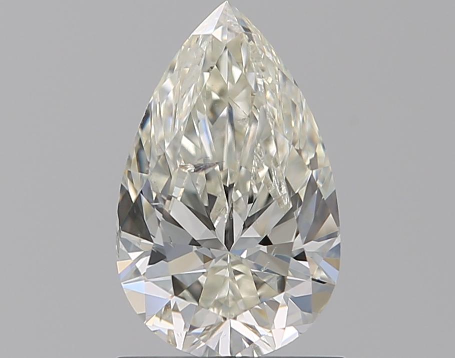 0.90 ct Pear Shape Diamond : J / SI2