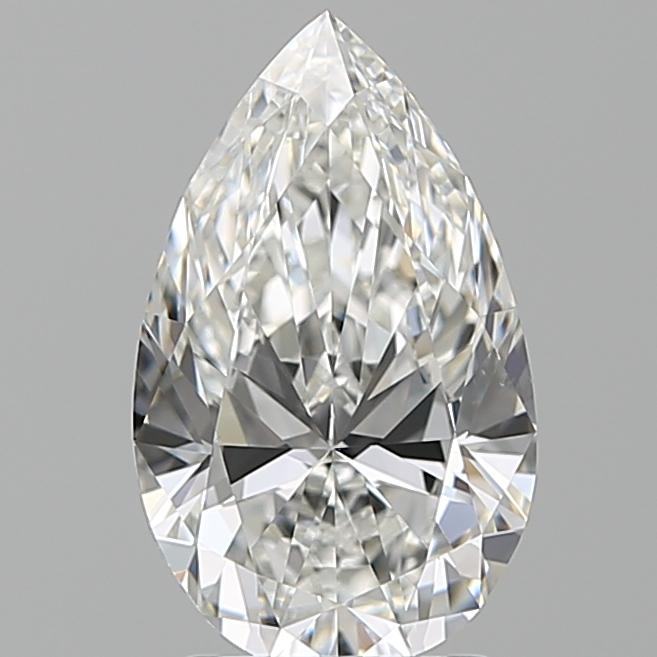 2.20 ct Pear Shape Diamond : F / VS1