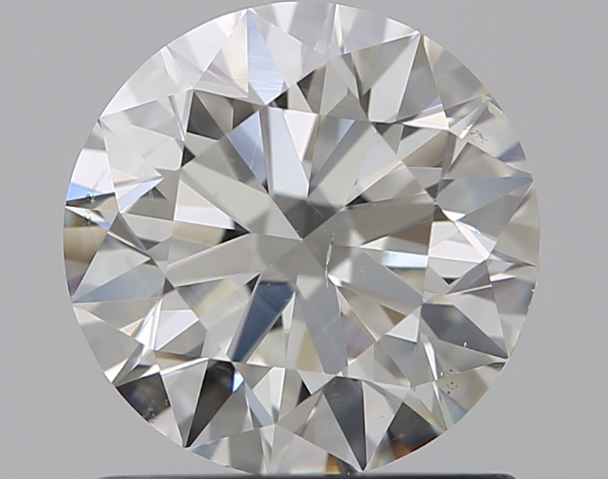 0.90 ct Round Diamond : H / SI1