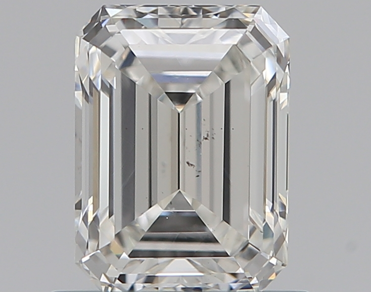 0.76 ct Emerald Cut Diamond : G / SI1