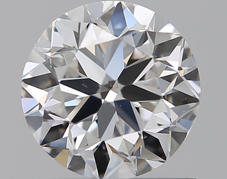 0.75 ct Round Diamond : E / VS2