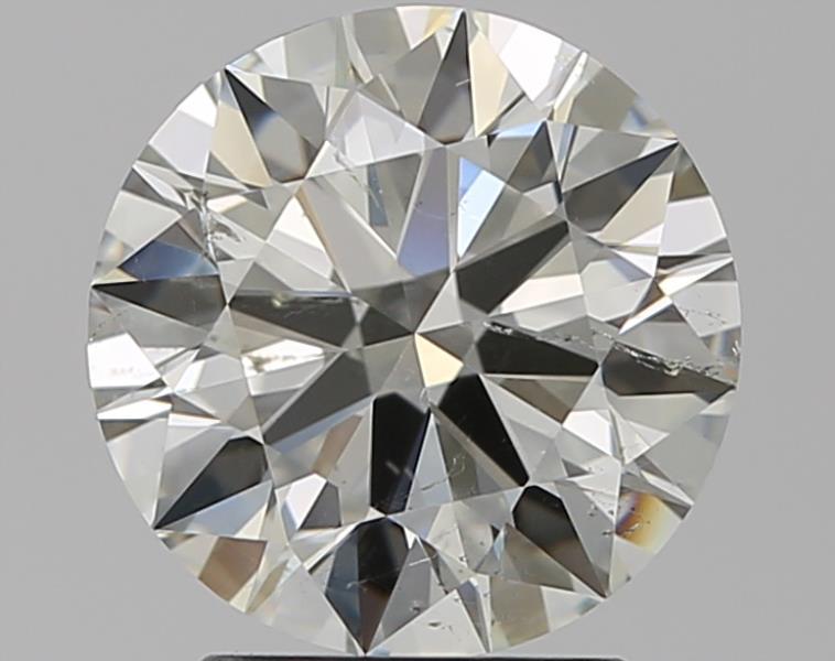 2.09 ct Round Diamond : K / SI2